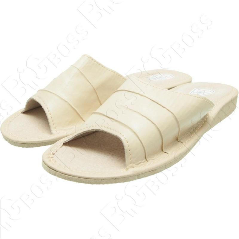 Женские кожаные тапочки Tap Mal