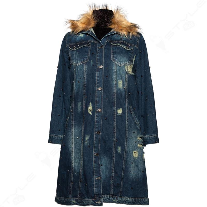 Джинсова куртка Luizza