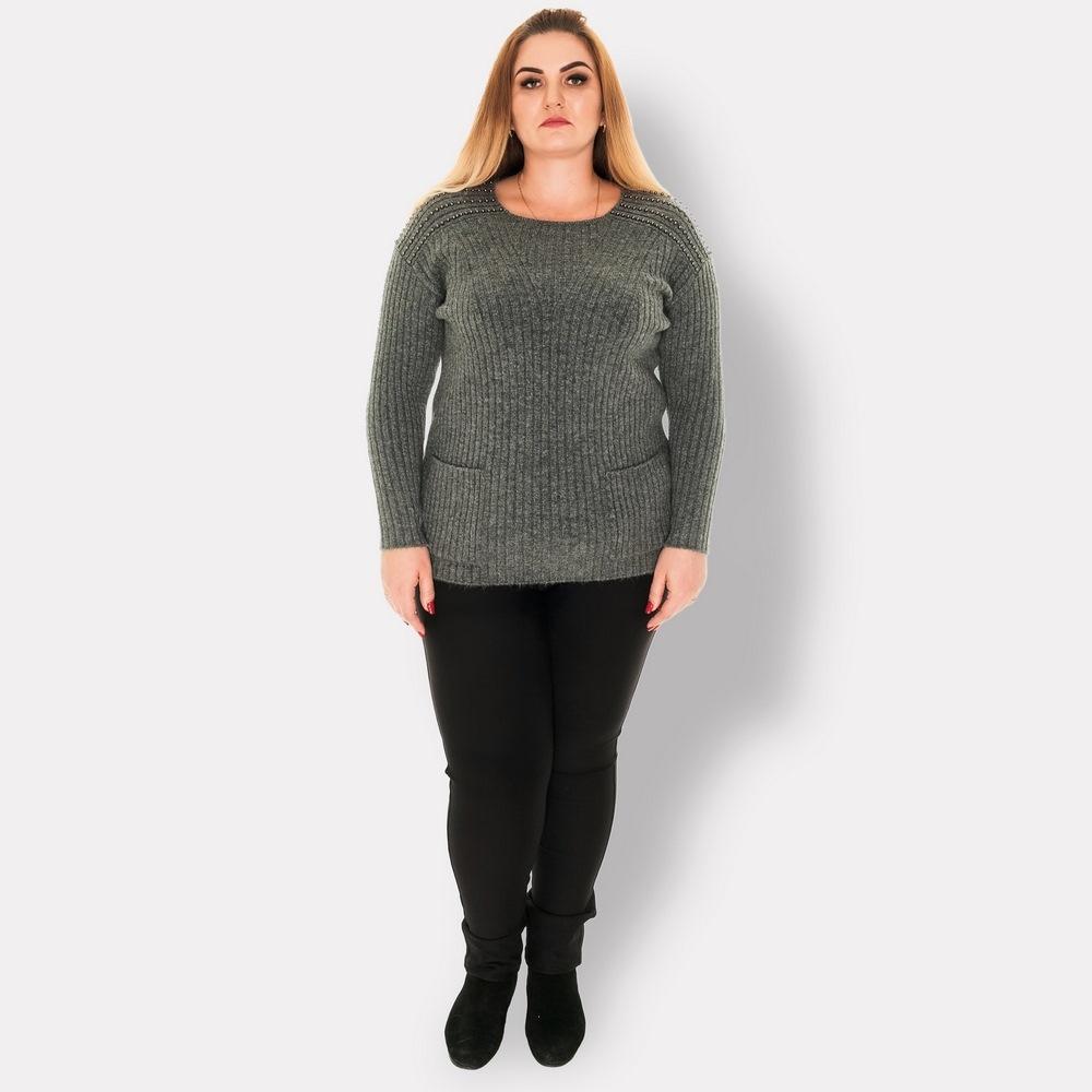 Женский теплый свитер DARKWIN