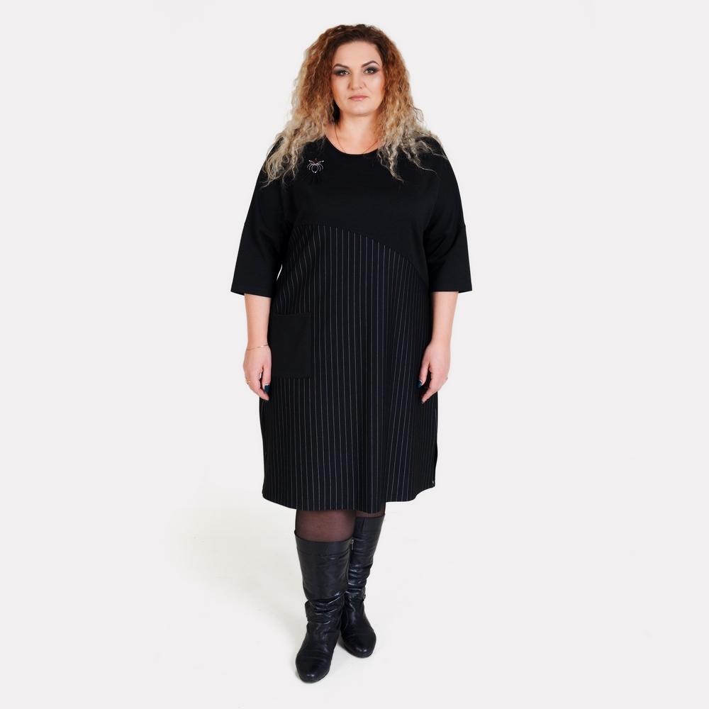 Деловое платье большого размера ALAZORA
