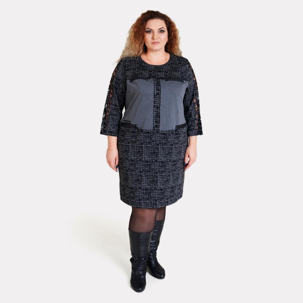 Платье большого размера AY-SEL