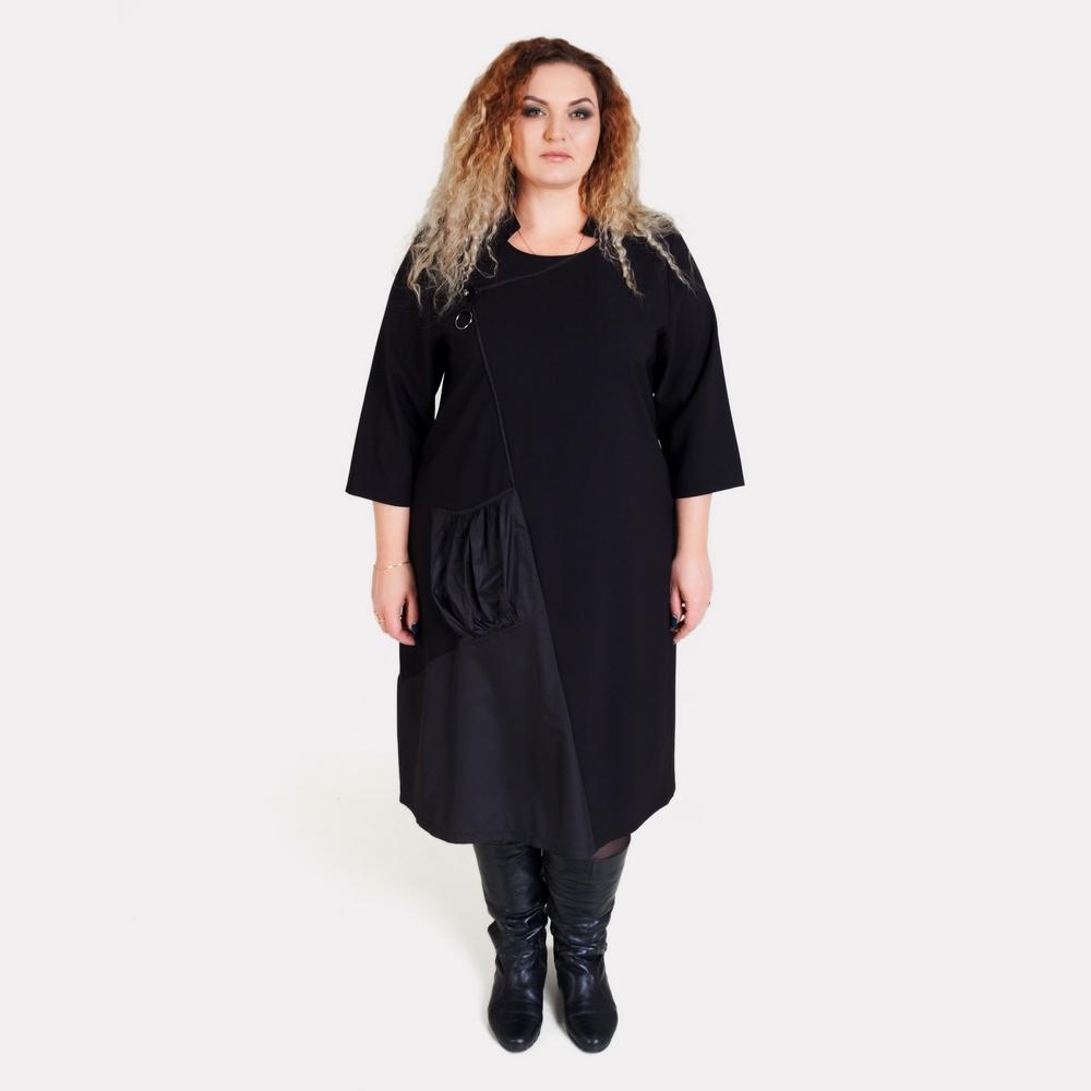 Стильное платье большого размера ALAZORA