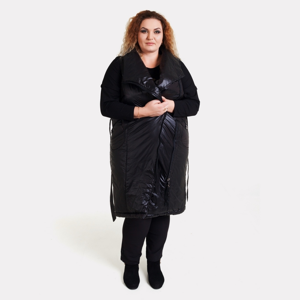 Женская жилетка большого размера EZE