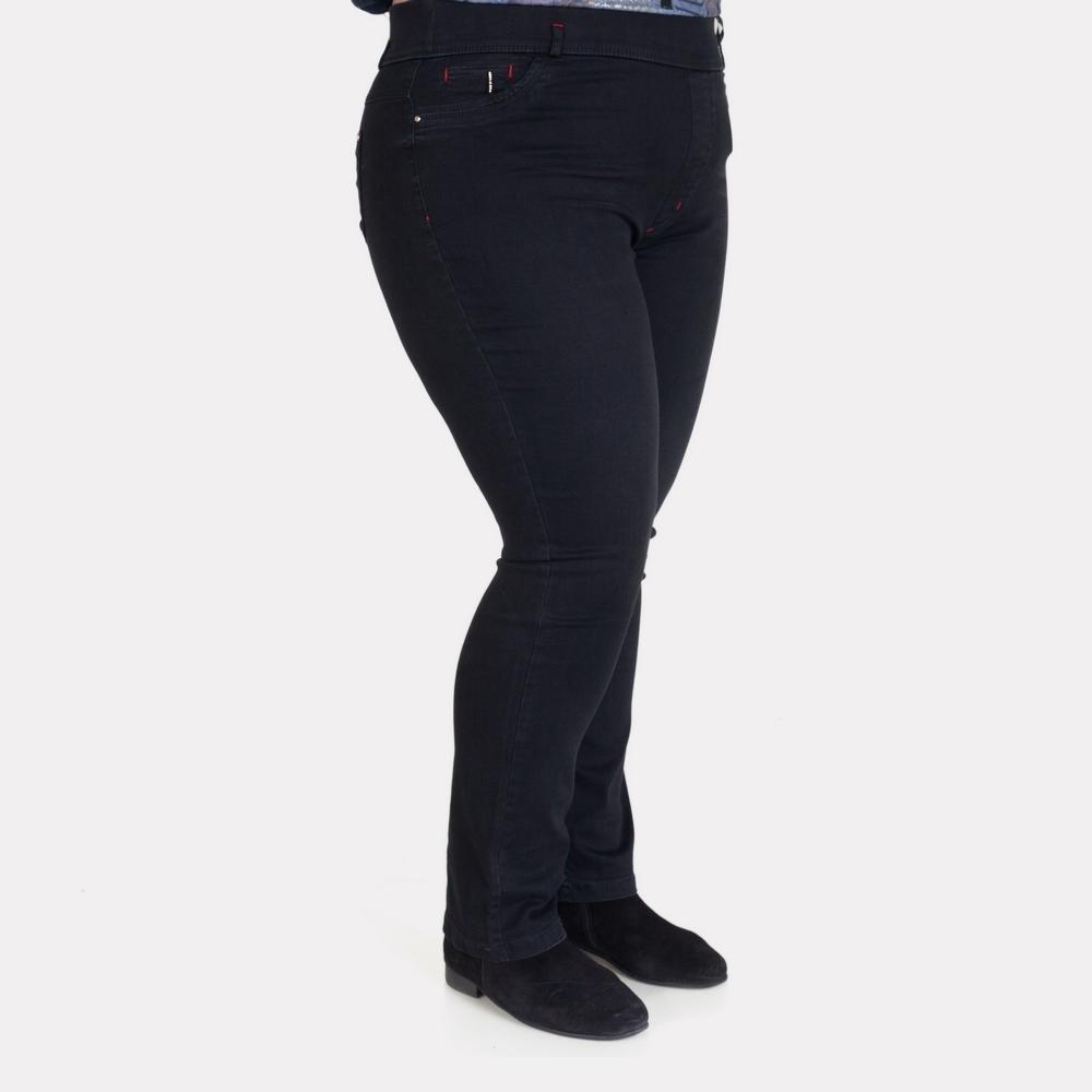Женские черные джинсы большого размера. EDOLINE.