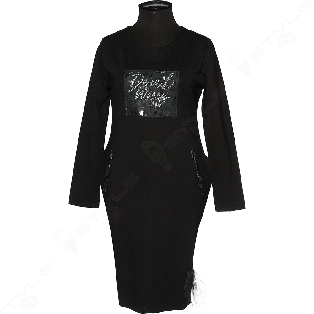 Красивое платье большого размера. Luizza.