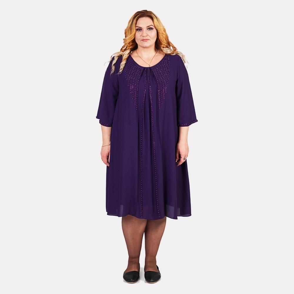 Купити жіночі сукні для повних великих розмірів в інтернет магазині 74c512b8c169b