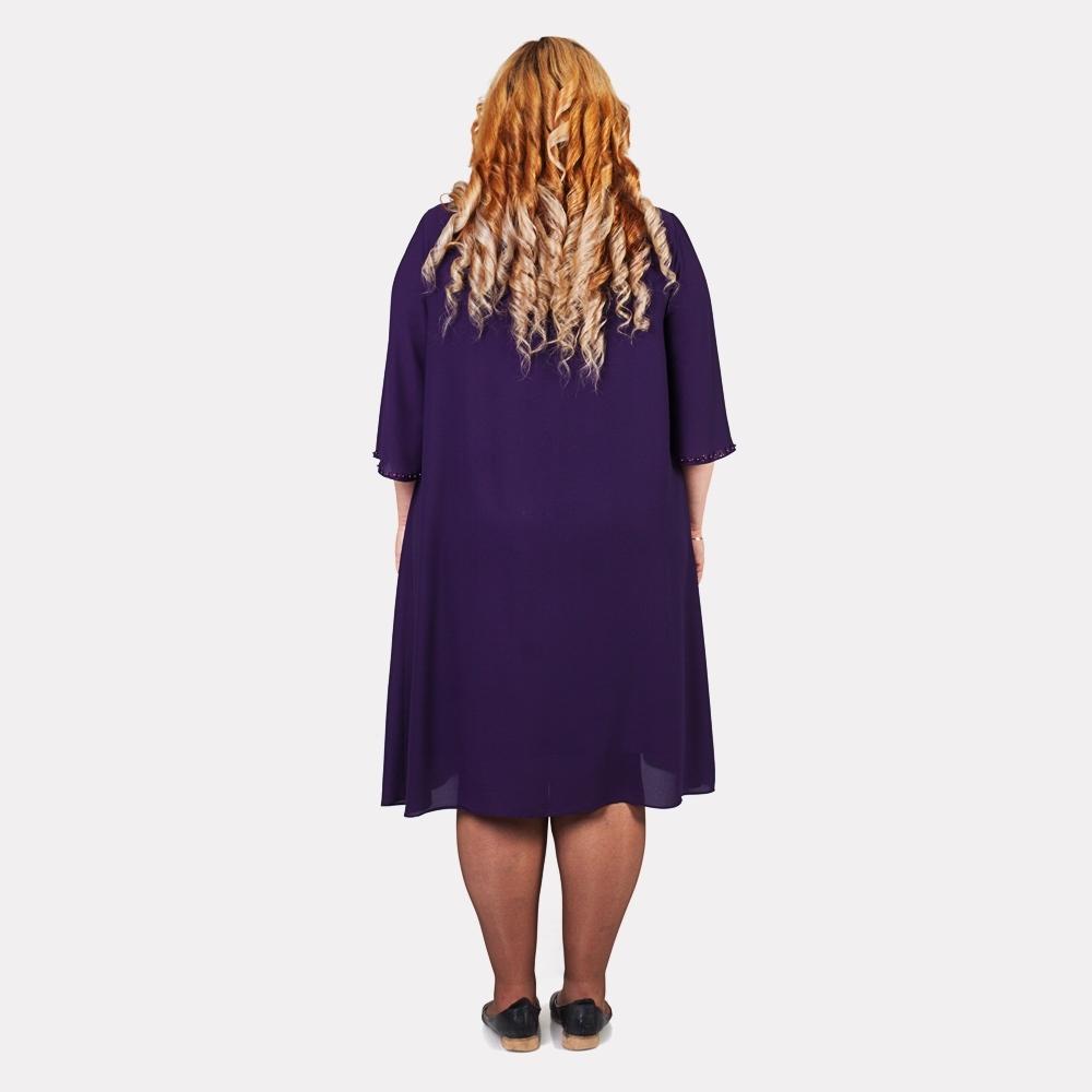 Шикарное женское синее платье COCOLINE 2