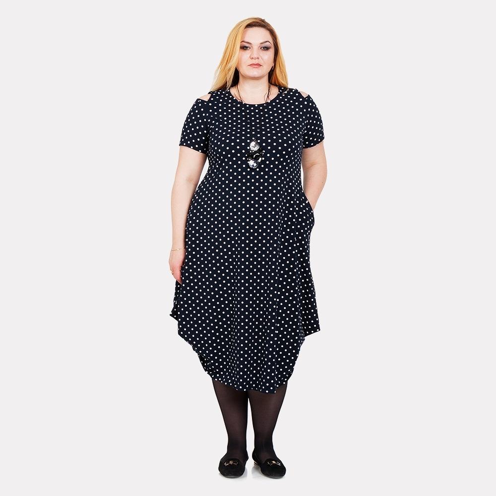 08f964f5786 Каталог одежды 682 товара. Женское платье Darkwin в горошек