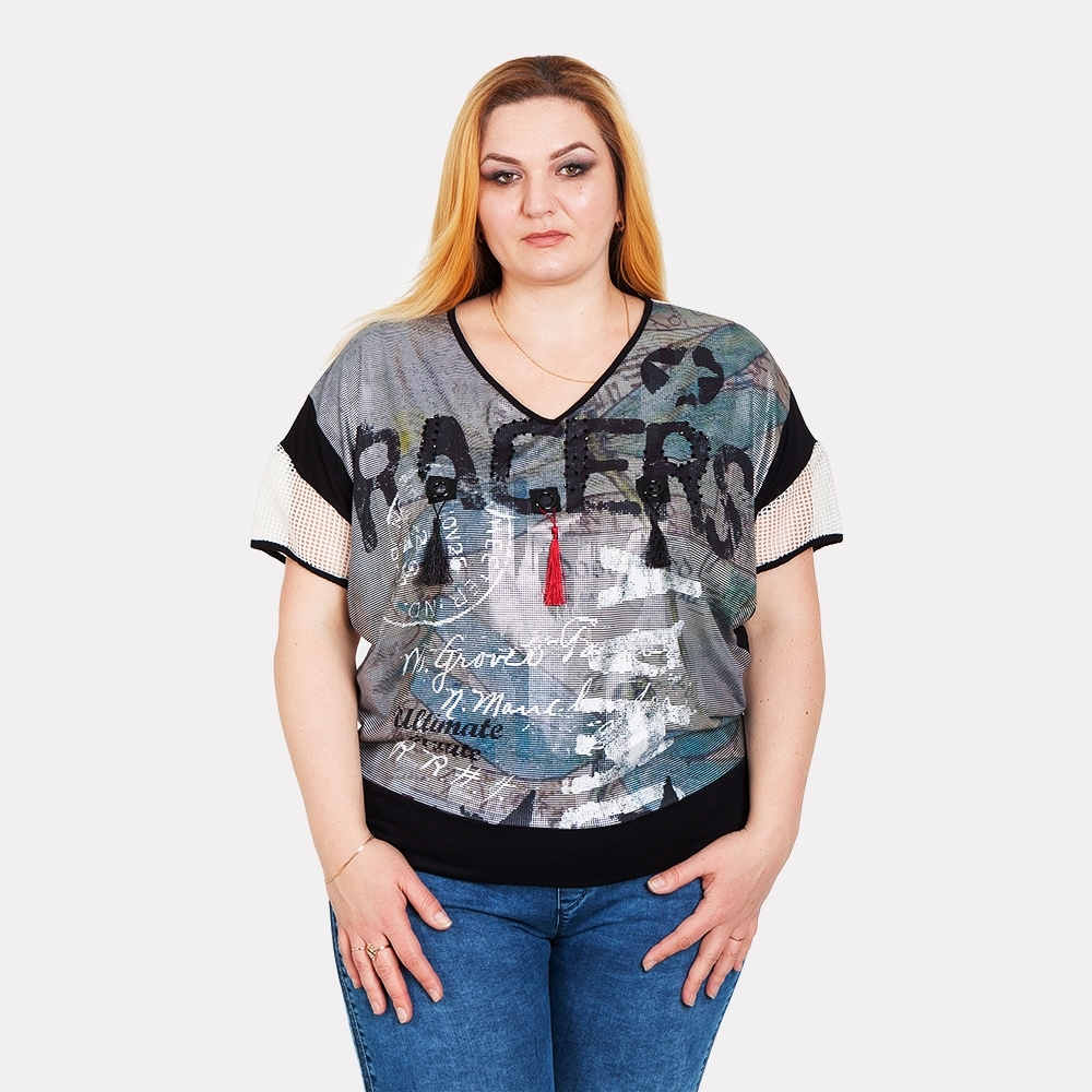 Женская футболка LA VELINA