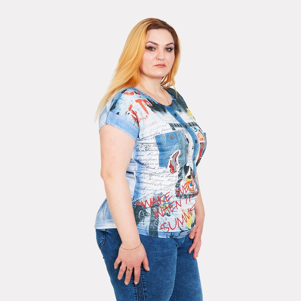 Женская футболка LA VELINA 1