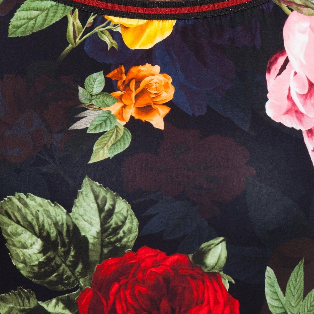 Красивое платье в яркие цветы Darkwin  3