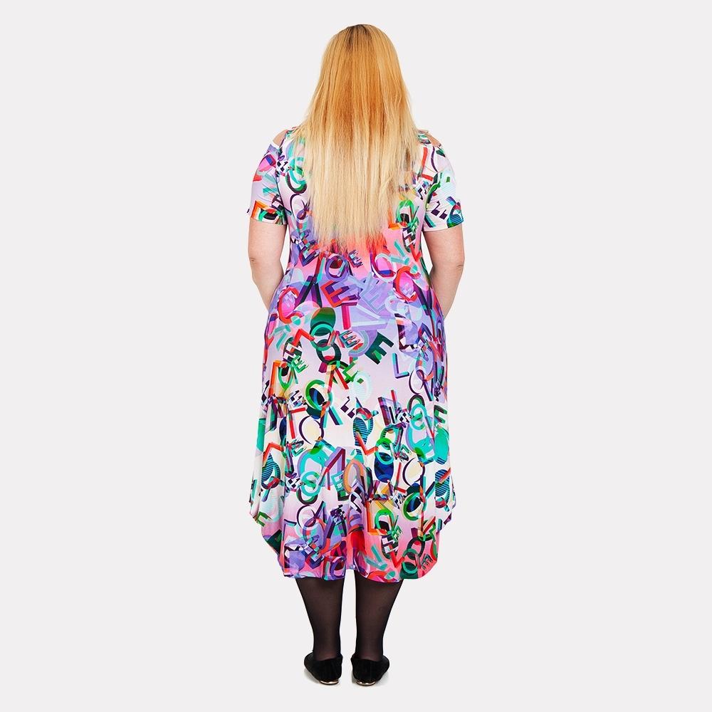 Женское платье вискоза DARKWIN 2