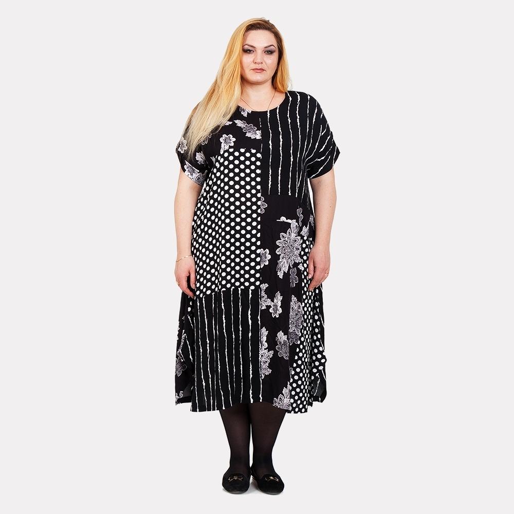 Летнее платье штапель DARKWIN 0
