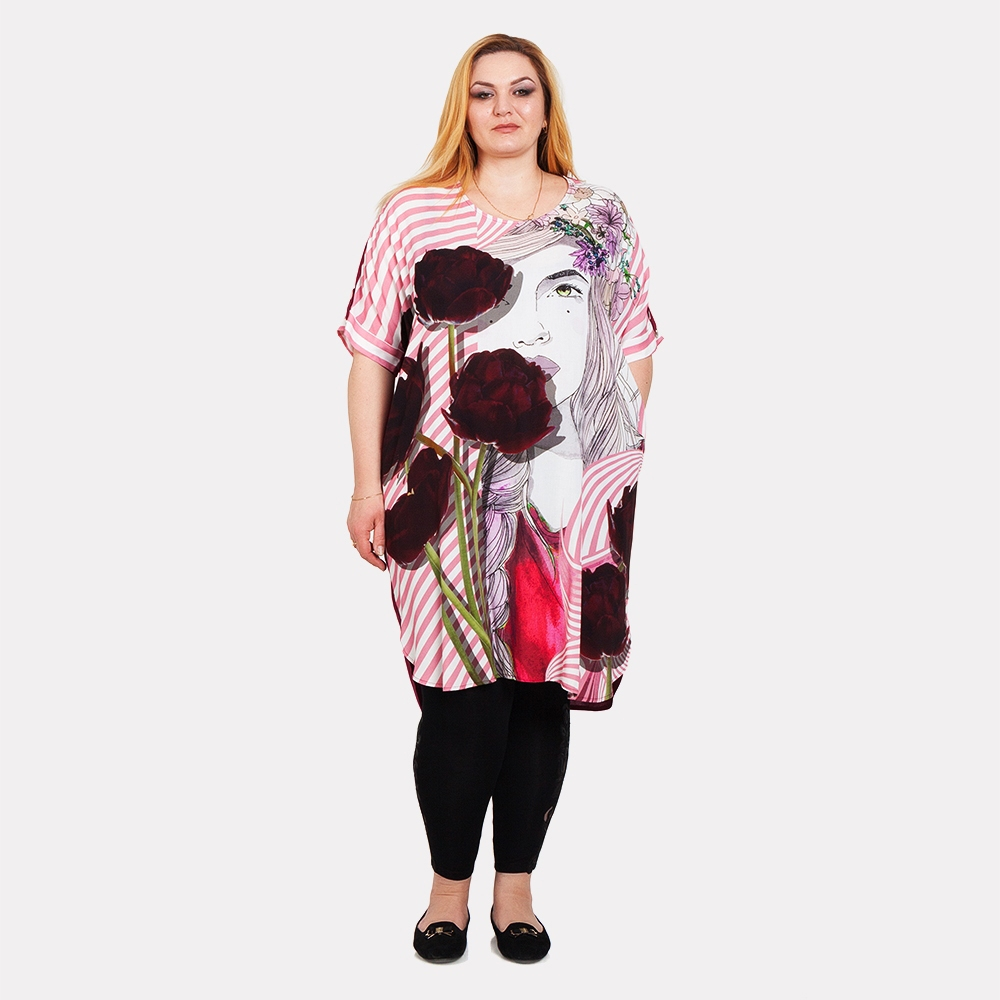 Платье-туника штапель Divas Planet