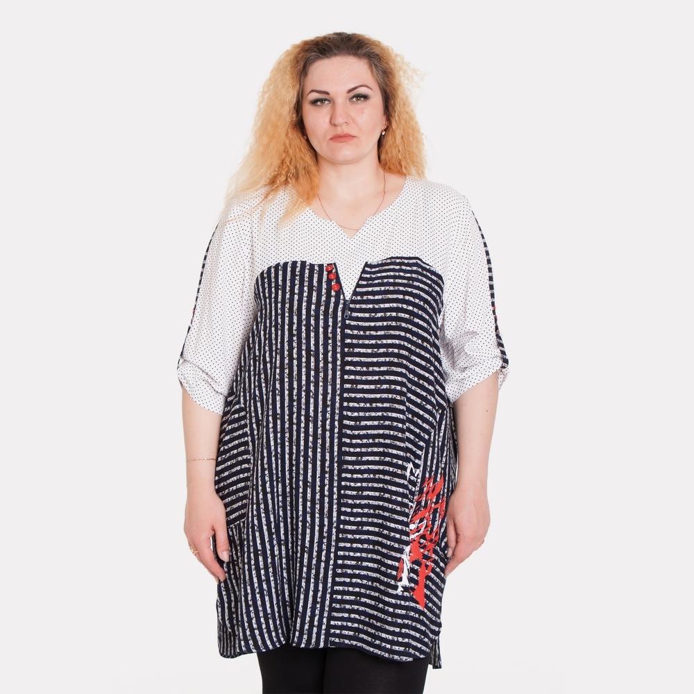 ea62315efb5787 Туніки великих розмірів для повних жінок від Style-XL