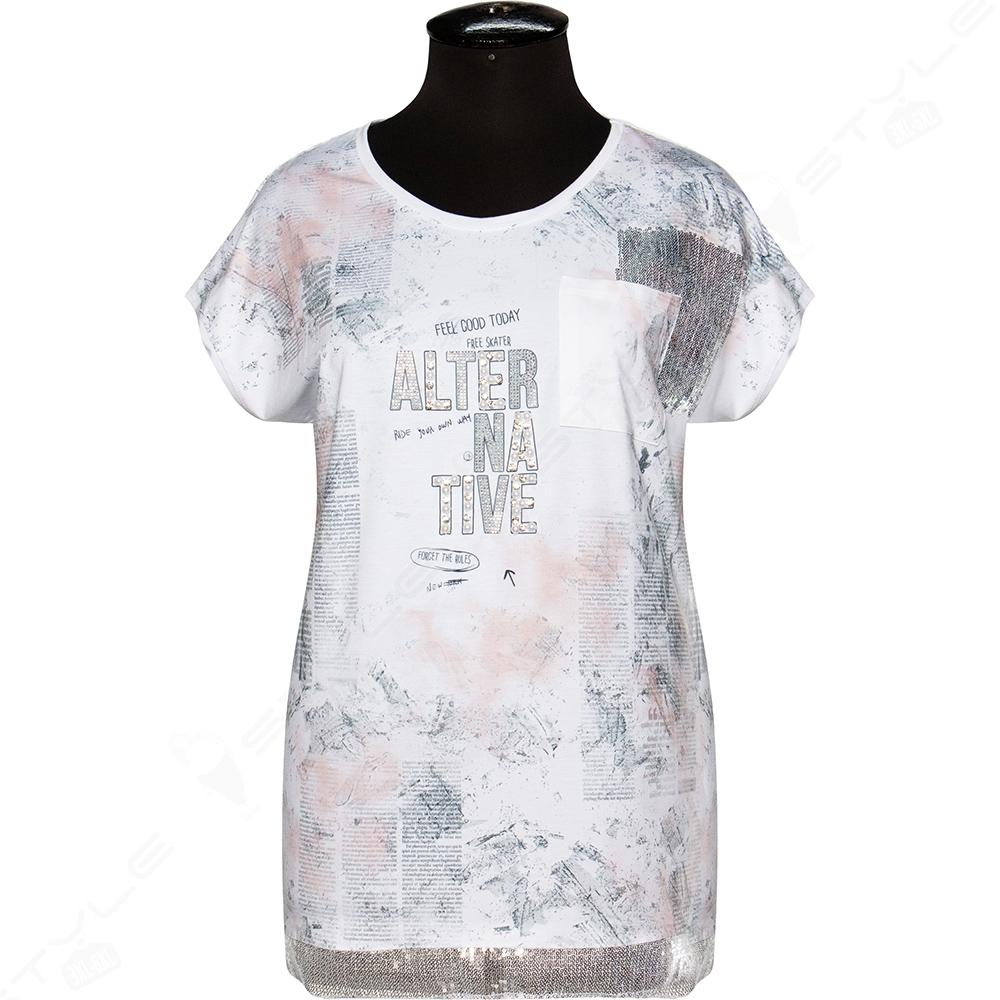 Женская футболка Luizza