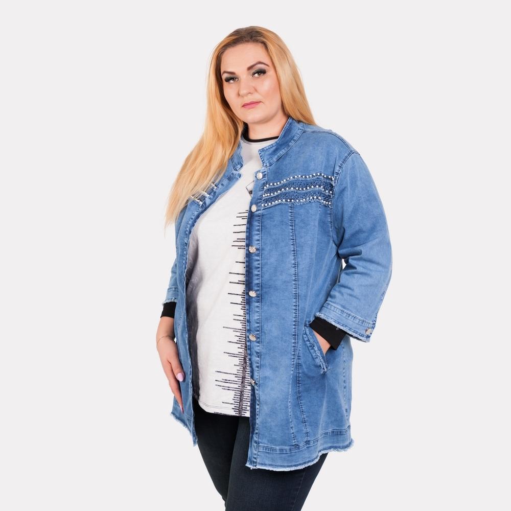 Женская джинсовая куртка Busca