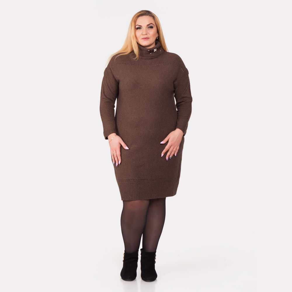 Шерстяное платье DARKWIN