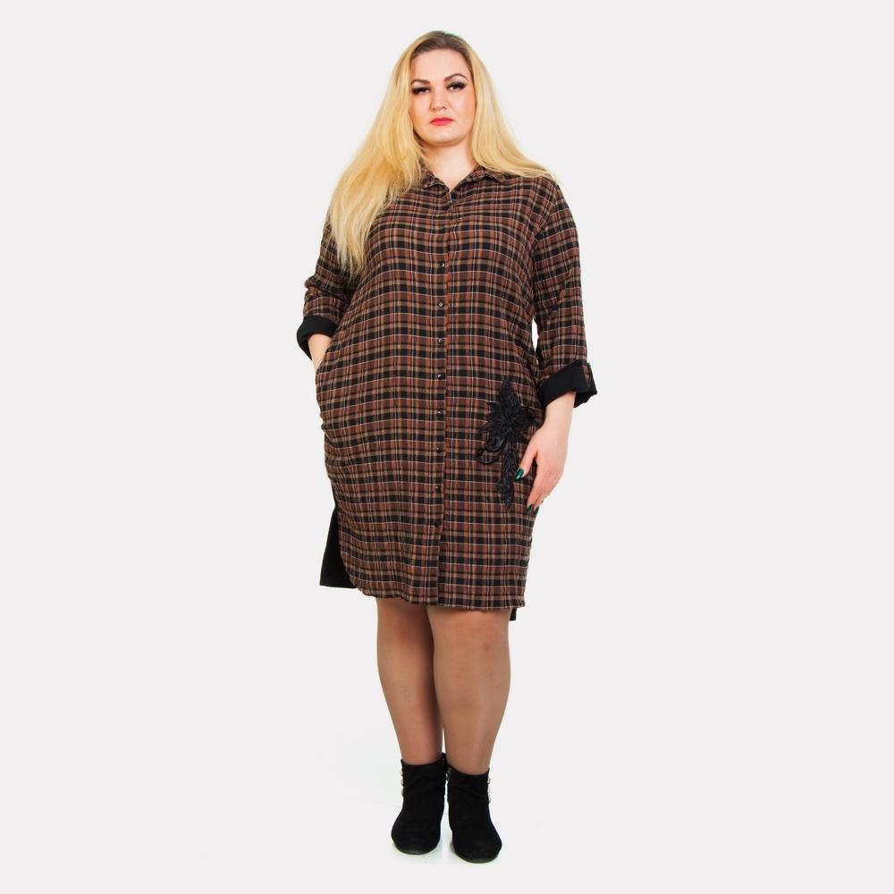Женское платье-рубашка Darkwin