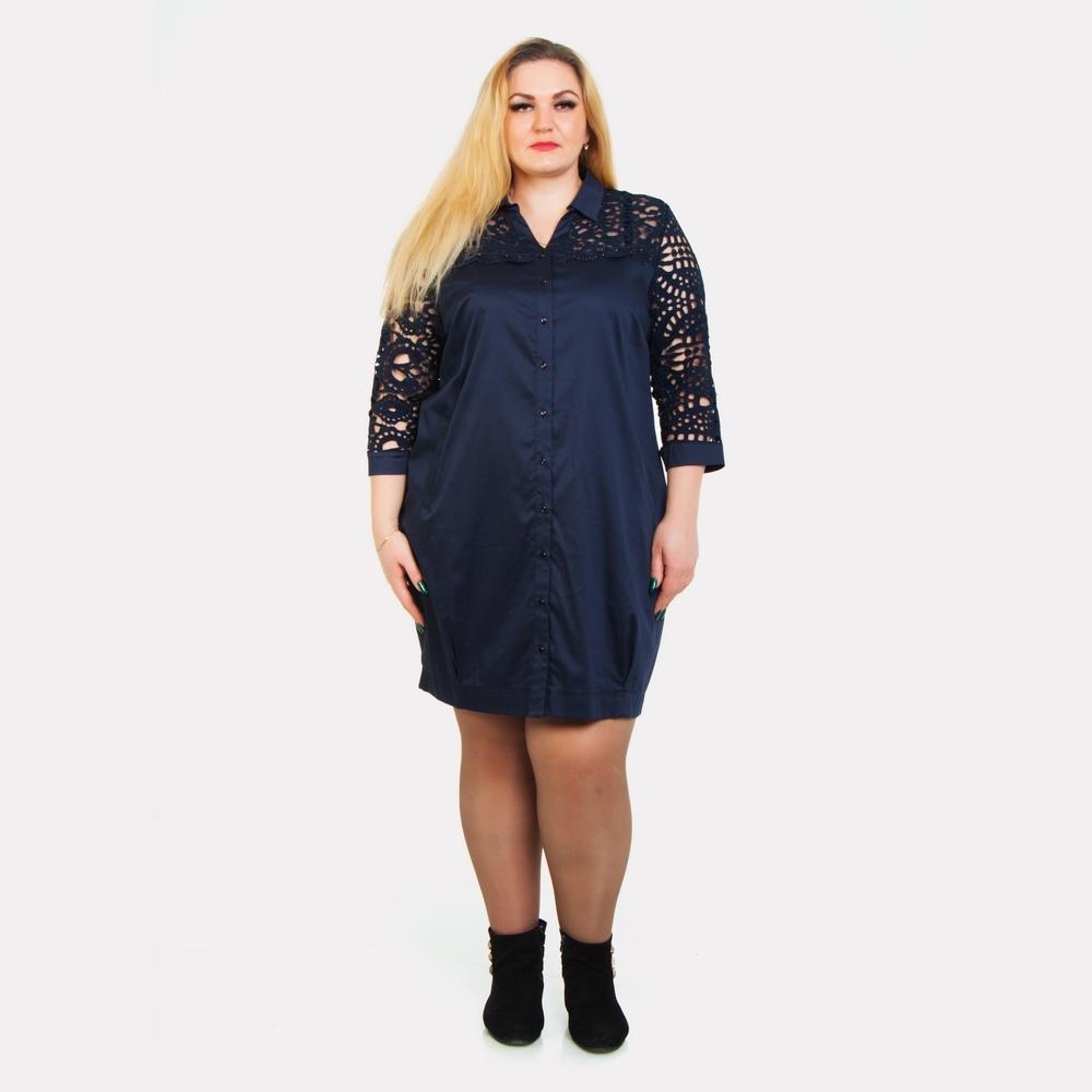 Женское платье-рубашка AY-SEL