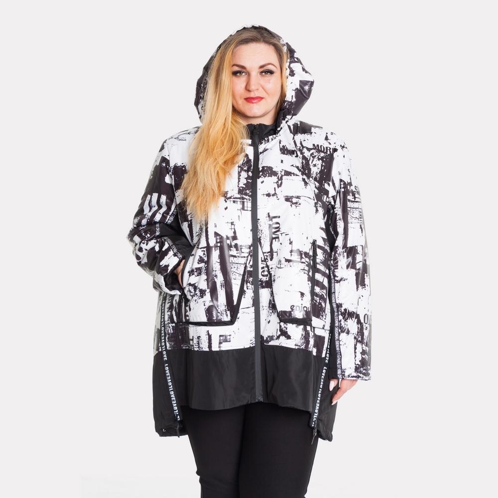 Женская зимняя куртка AY-SEL супер батал 0