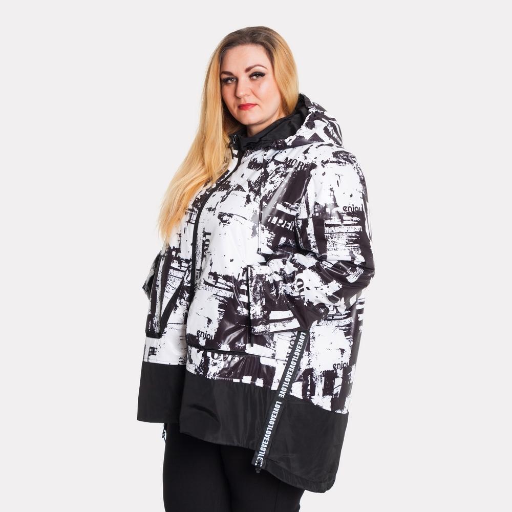 Женская зимняя куртка AY-SEL супер батал 1