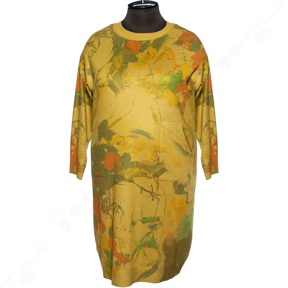Женское трикотажное платье DARKWIN