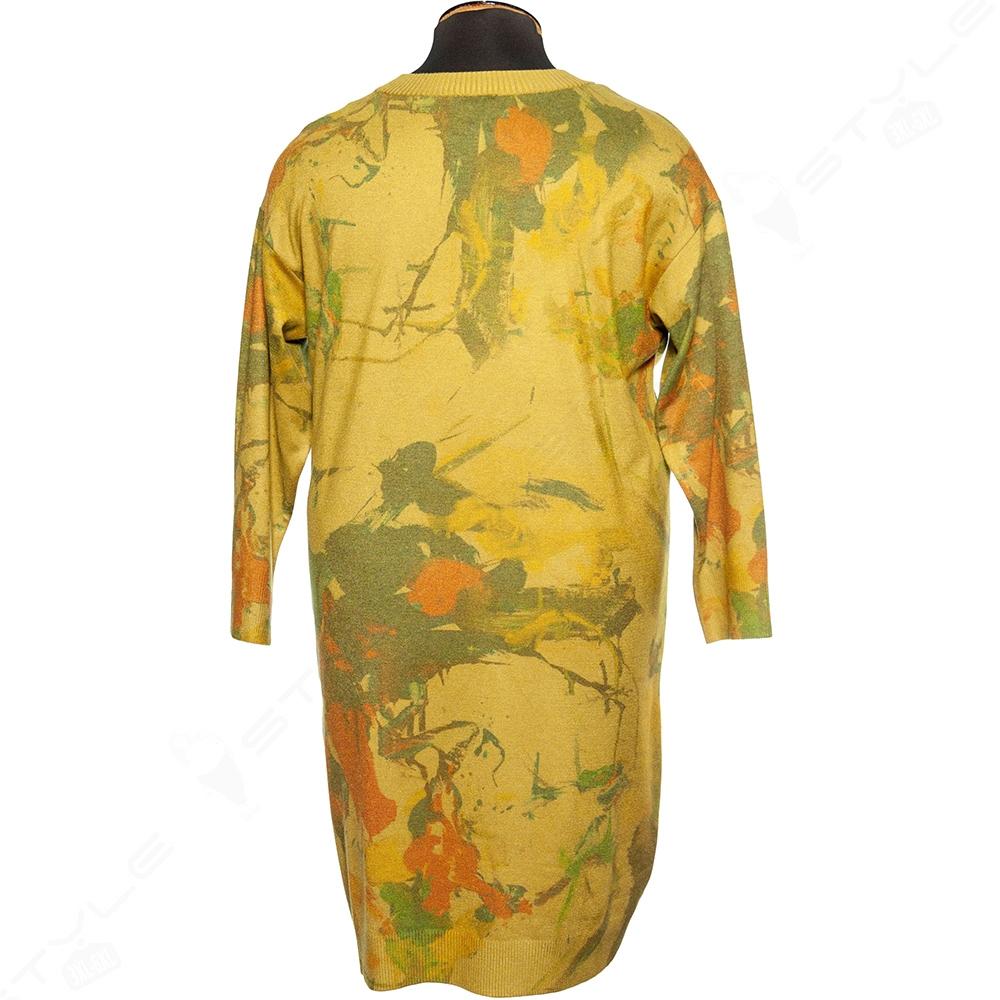 Женское трикотажное платье DARKWIN 2