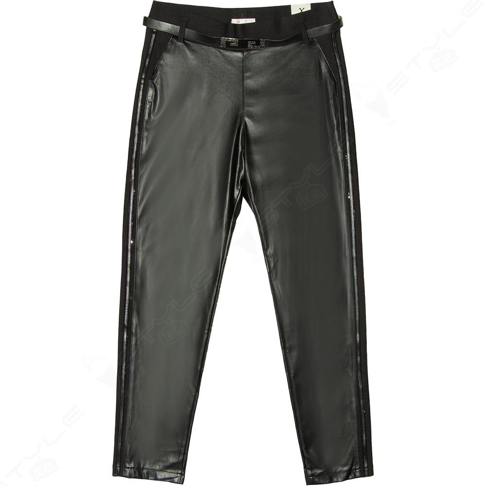 Женские брюки EXITLINE экокожа