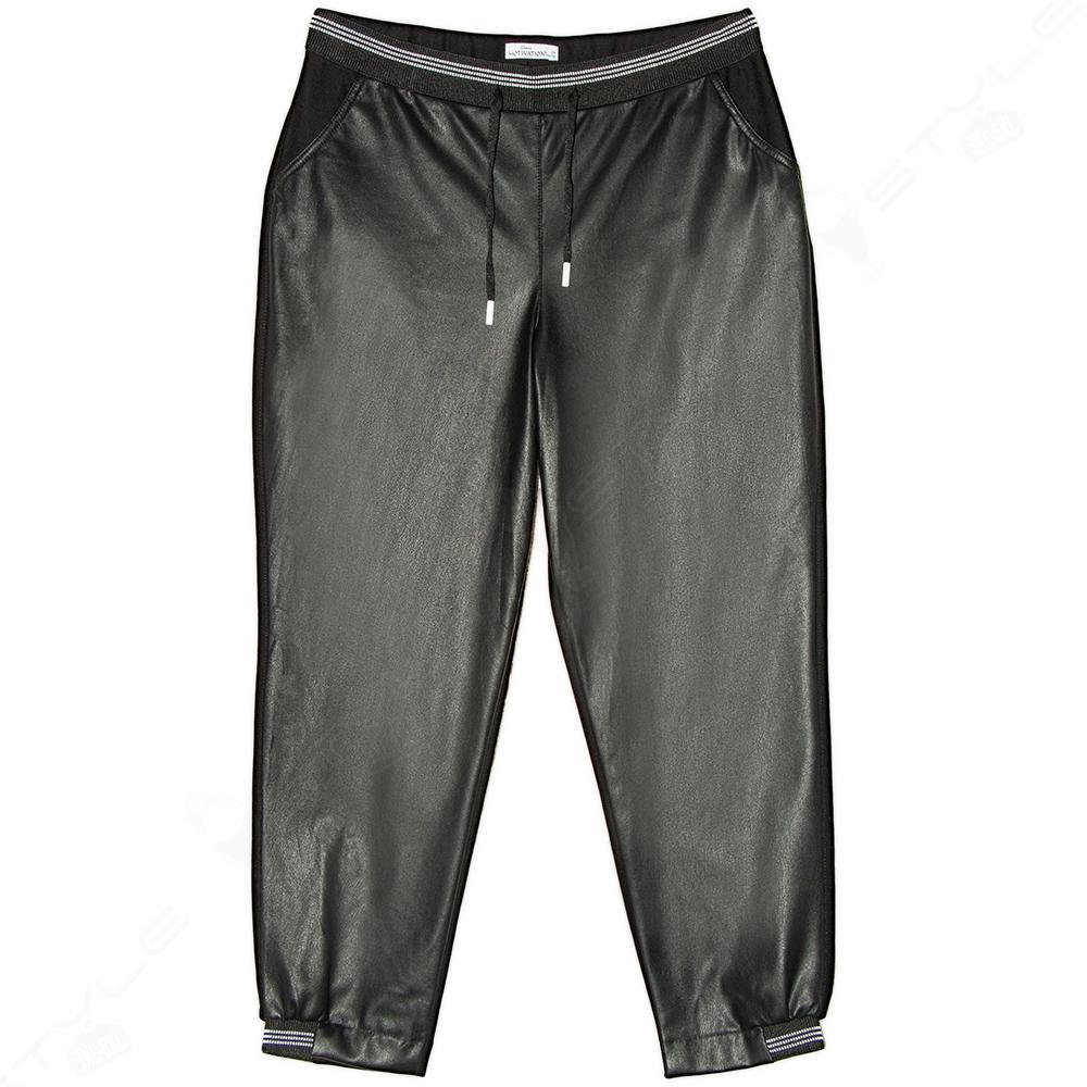 Женские брюки MOTIVATION экокожа