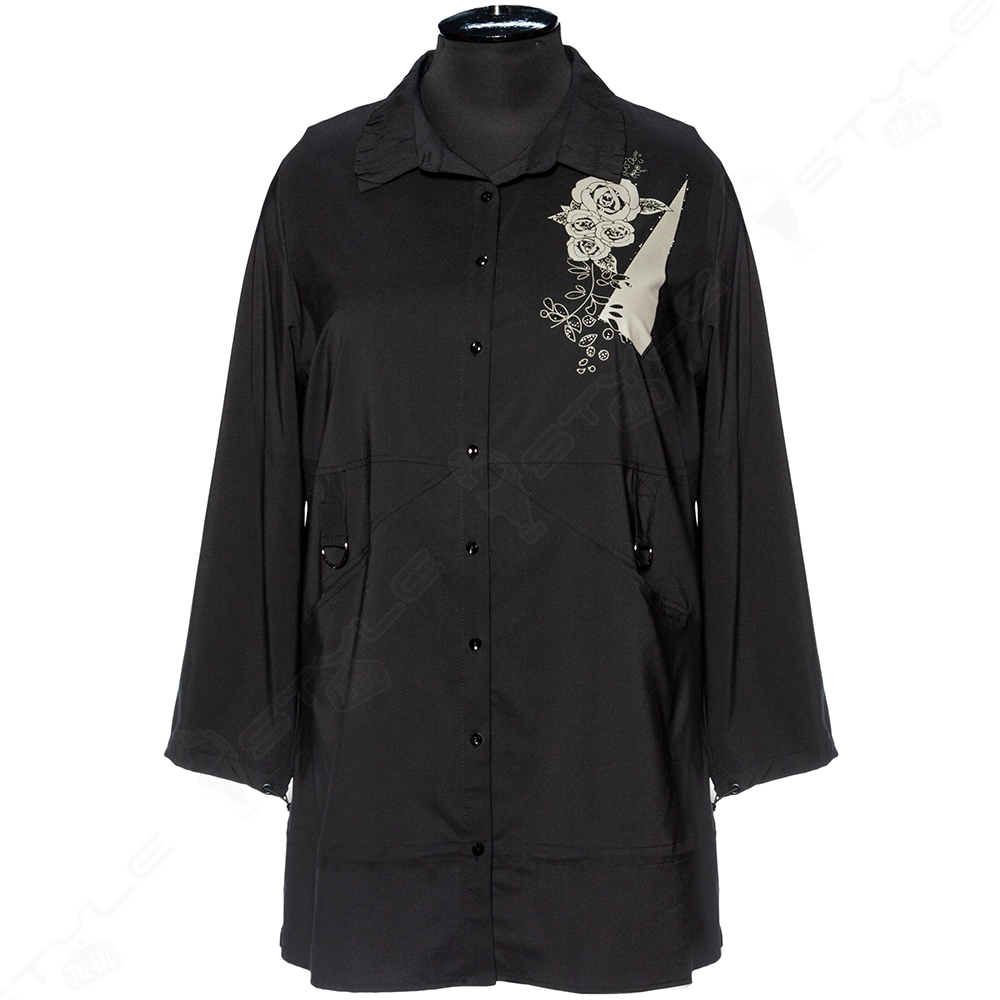 Женская рубашка-туника AY-SEL
