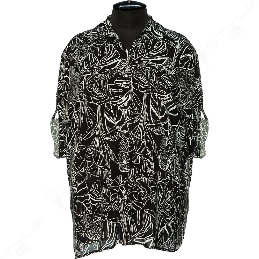 Женская блуза polpetta из штапеля