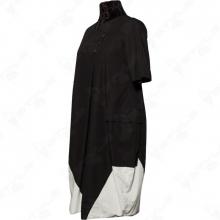Платье LUUKAA черно-белое 1