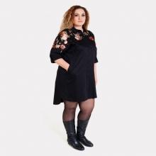 Эффектное платье-рубашка большого размера AY-SEL 1