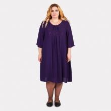 Шикарное женское синее платье COCOLINE 0