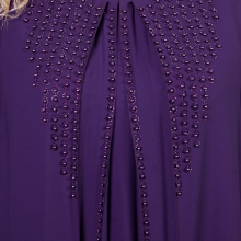 Шикарное женское синее платье COCOLINE 3