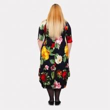 Красивое платье в яркие цветы Darkwin  2