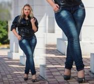 Какие фасоны джинсов актуальны полным женщинам